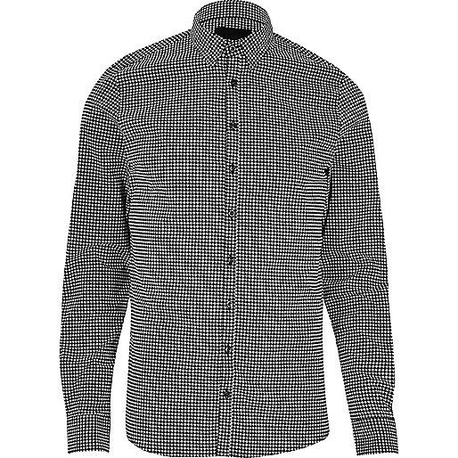 Black Vito check shirt