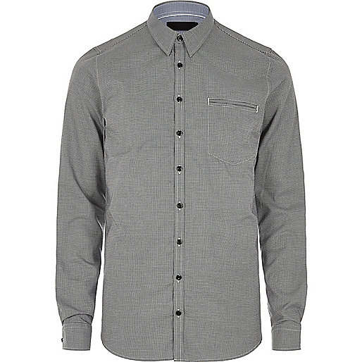 Grey Vito pocket shirt