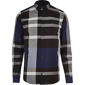 Black and blue Vito shirt