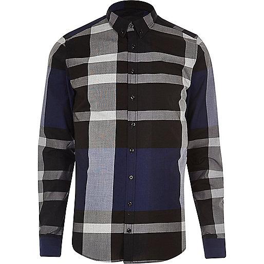 Vito – Schwarzes und blaues Hemd