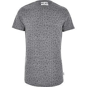 Bellfield – Graues T-Shirt mit Motiv