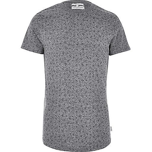 Grey Bellfield shard print T-shirt