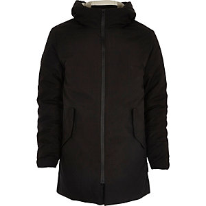 Black Bellfield 2 in 1 padded parka