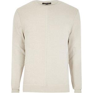 Stone seam sweatshirt