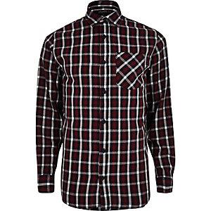 Red Jack & Jones Vintage check shirt