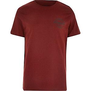 Jack & Jones – Dunkles Logo-T-Shirt