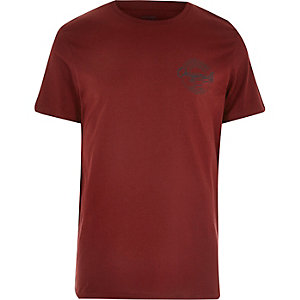 Dark Jack & Jones logo T-shirt