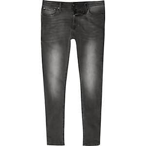 Grey wash Jack & Jones skinny jeans