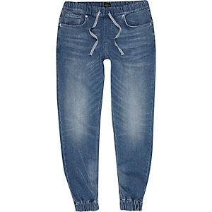 Pantalon de jogging Ryan bleu moyen délavé