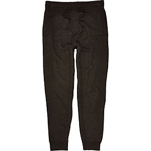 Dark grey tailored joggers