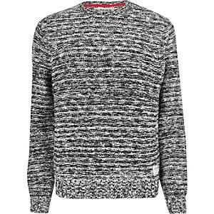 Grey stitch jumper