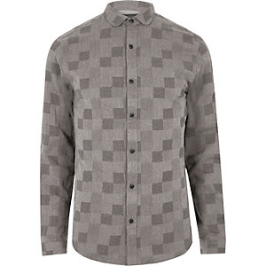 Grey check Only & Sons shirt