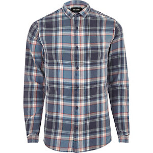 Blue Only & Sons casual check shirt