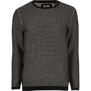 Black knit Only & Sons jumper