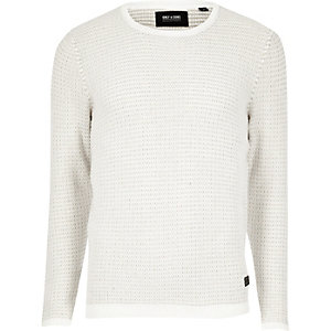 Light grey knit Only & Sons jumper