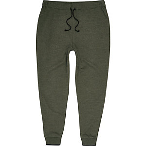 Pantalon de jogging vert clair fuselé
