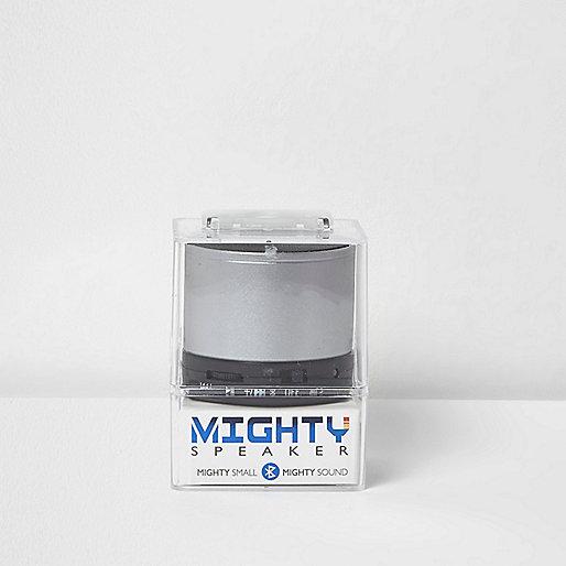Mighty Speaker in Grau-Metallic