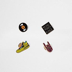 Good Vibes pin set