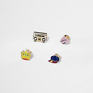 Casette Player pin set