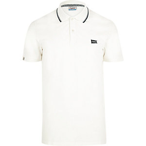 White Jack & Jones polo shirt