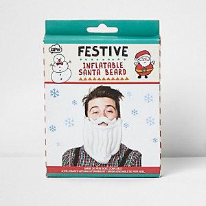 Inflatable Santa beard