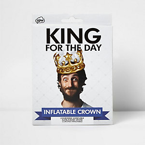 Courronne gonflable «King for the day» NPW