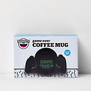 Black Game Over coffee mug