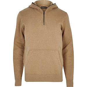Stone Jack & Jones zip hoodie