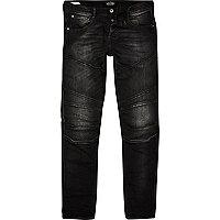 Black faded Jack & Jones slim fit jeans