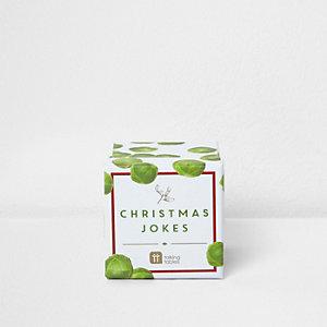White Christmas jokes sprouts