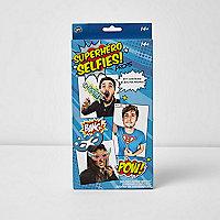 Superhero selfie prop pack
