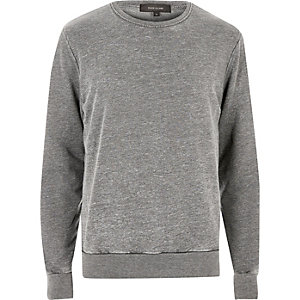 Charcoal grey sweatshirt
