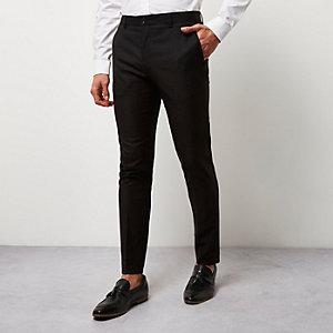 Pantalon skinny noir habillé