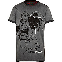 Boys grey batman t-shirt