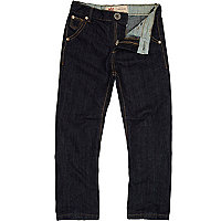 Boys dark wash denim jeans
