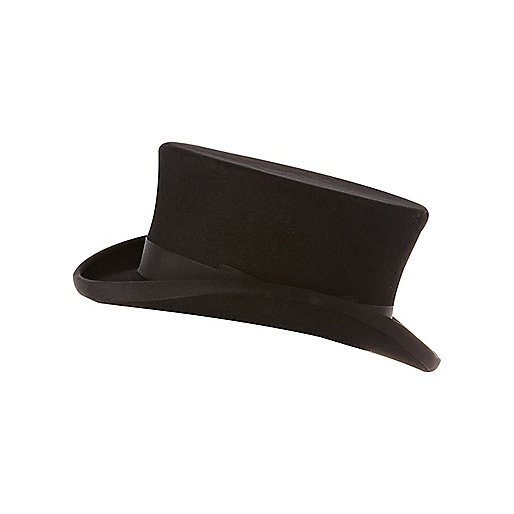 Boys black top hat
