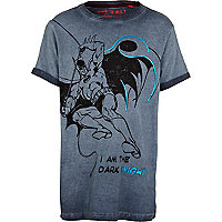 Boys blue batman t-shirt