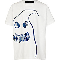 Kids white got treats ghost t-shirt