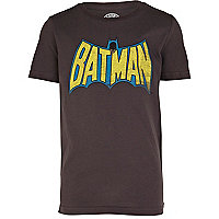 Boys black Batman t-shirt