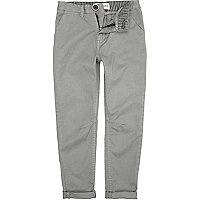 Boys grey chinos