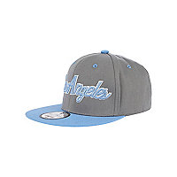 Boys grey Los Angeles trucker hat