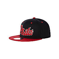 Boys black Phila trucker hat