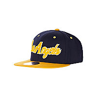 Boys navy Los Angeles trucker hat