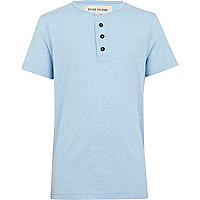 Boys light blue grandad t-shirt
