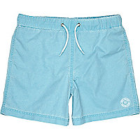 Boys turquoise swim shorts