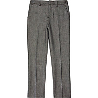 Boys grey suit trousers