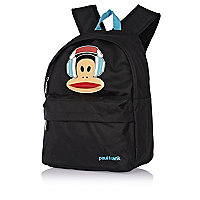 Boys black Paul Frank monkey rucksack
