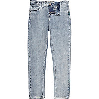 Boys light blue skinny jeans