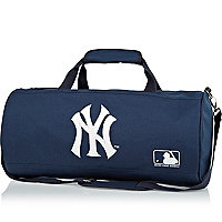 Boys navy NY duffle bag