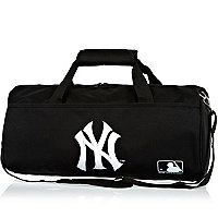 Boys black NY duffle bag